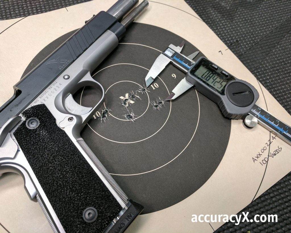 Custom 1911 Accuracy Test