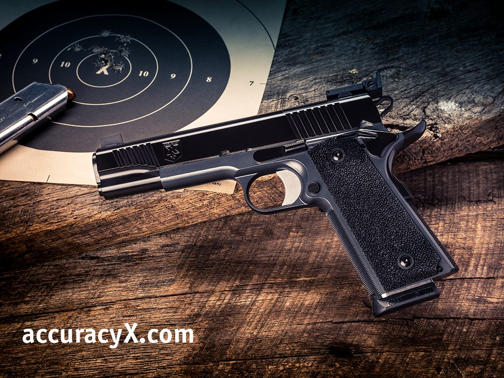 Custom 1911 Accuracy Test 2
