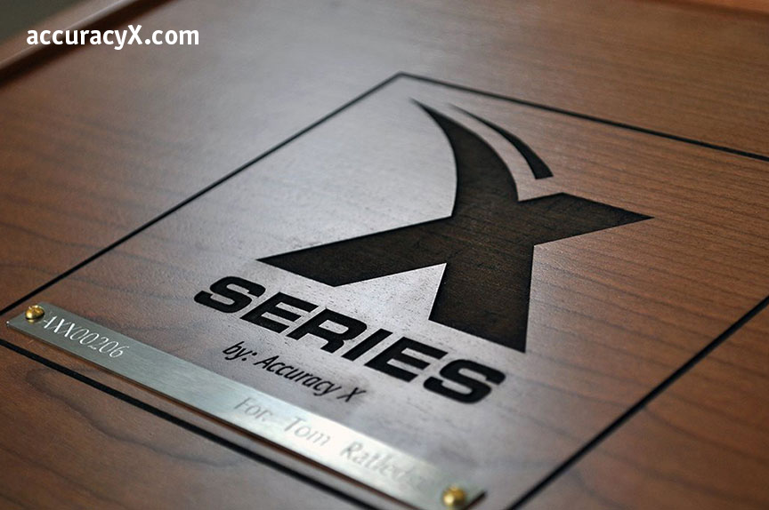 x series logo for 1911 accuracy